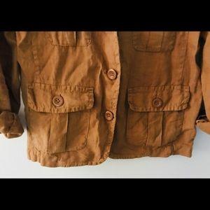 J. Crew 100% Linen Blazer, Size 4
